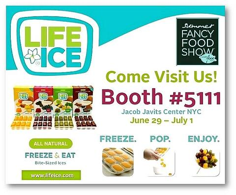 LifeIce Returns to 2014 Summer Fancy Food Show